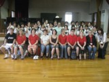 聖和女子学院でのディスカッションとスポーツ交流