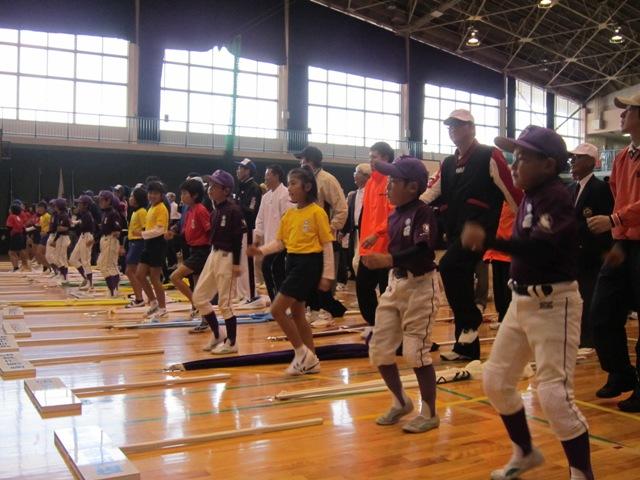 県民スポスポーツ祭「がんばらんば体操」